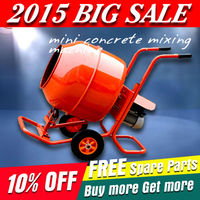 2015 Newest Huaxin mini concrete mixing machine