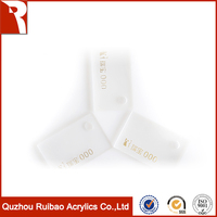 rpoa factory direct sale solid surface clear chair material solid surface clear chair material acrylic