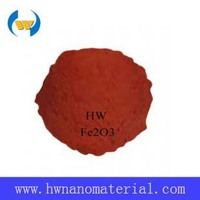 china factory Coloring Fe2O3 red Nano Ferric Oxide Powders