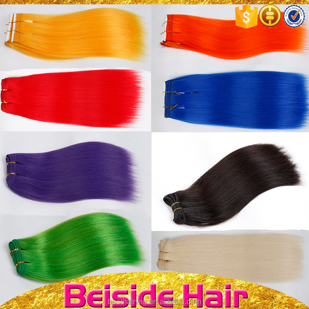 Top quality wholesale synthetic hair, synthetic weave hair extension