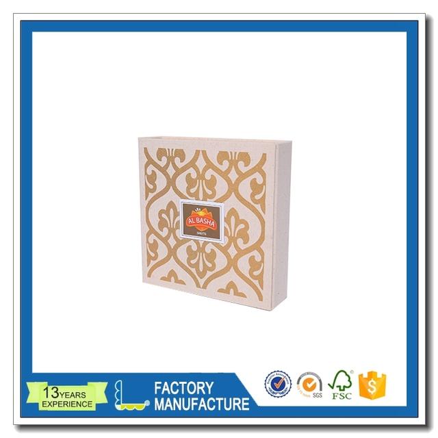 clear plastic membranes photo frame display custom paper box