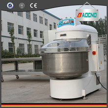 200kg factory price double speed horizontal spiral dough mixer