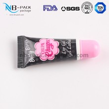 lip balm manufacturer BR custom colors plastic lip balm tube