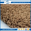 Micro polyester sherpa fleece fabric for jacket