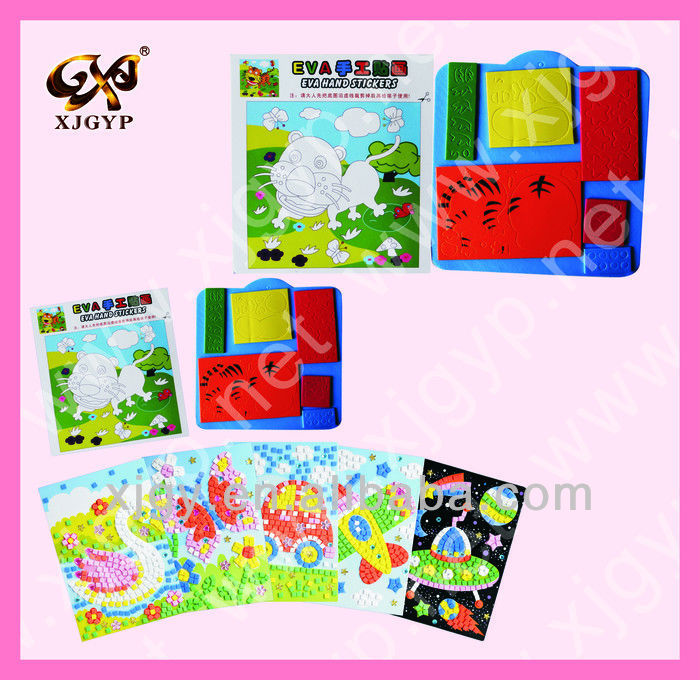 Children gift DIY mosaic sticker(Mosaic0187)