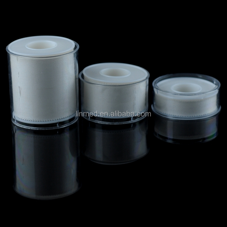 CE ISO High Quality Medical Surgical Silk Tape Self Adhesive Medical Tape