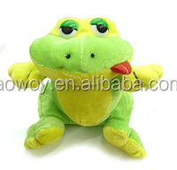 sassy little frog plush toys custom logo printed gift animal toys sassy little frog 131