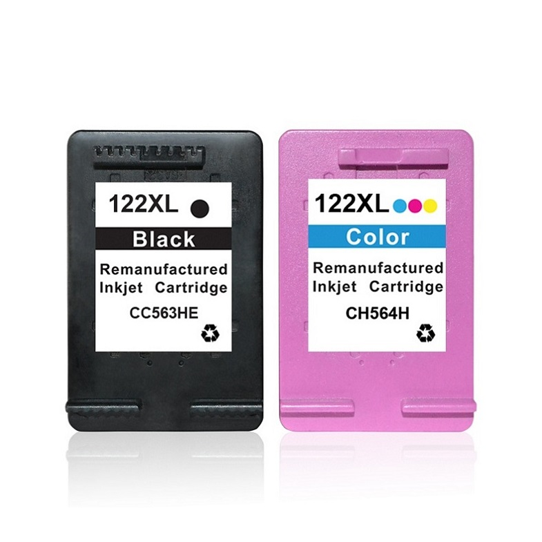 Refilled ink cartridge for 122 122XL used in Deskjet <strong>1000</strong> 1050a 2000 2050 2050a Printer
