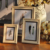 Large Size antique plastic Picture Photo Frame for oil painting