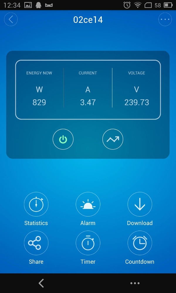 Wireless energy meter / Wireless energy Monitor power with smart phone APP