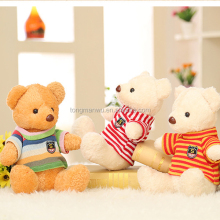 30cm teddy bear plush toy embroidery