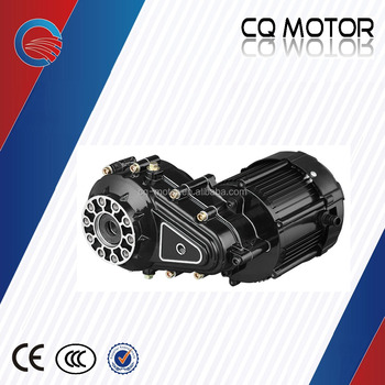 1000w power and 48v or 60v tricycle cargo passenger brushelss dc gear electric motor