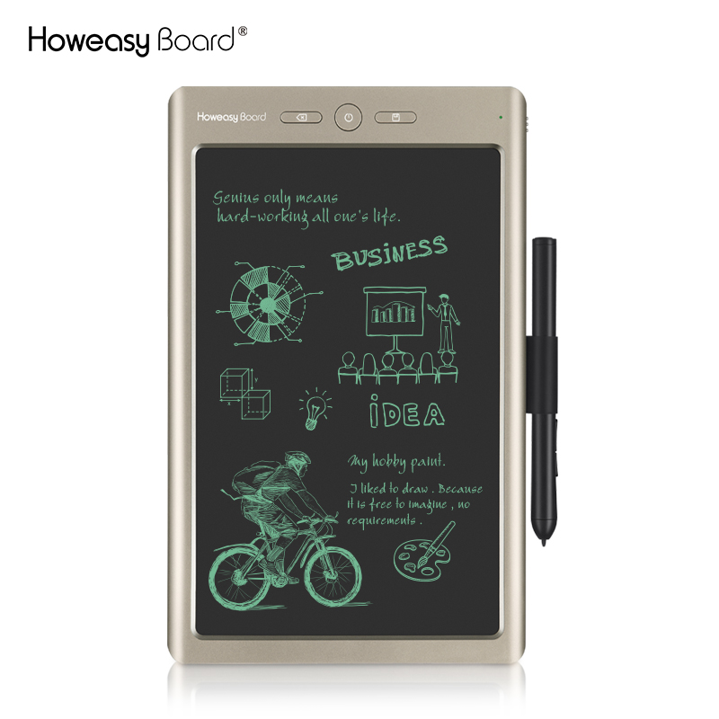 howeasy 10 inch <strong>digital</strong> note kids toy taking tablet lcd paperless writing graphic pad for laptop