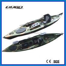 single ocean fishing kayak with pedals