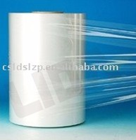 Super clear roll printing plastic pvc shrink label film for wrapping