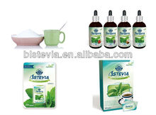 Refined white stevia sugar