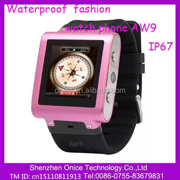 AW9 1.5 inch watch phone with skype&gsm smart watch by romote control OGS watch phone manual
