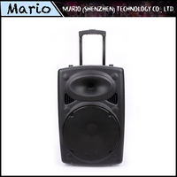 Single 12 inch bass rechargeable super bass portable speaker set
