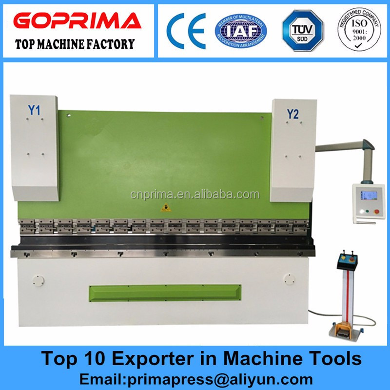 Hot sale WC67K 125T 3200mm hydraulic flat bar bending machine with European CE Standards