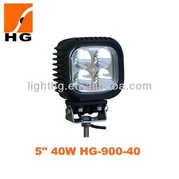 Hot Sale! 5'' 40W SUV Auto flood LED working light 42w suv auto spotlight HG-900-40