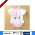 china wholesale children's customer logo avaliable kid printing plain color and design wear
