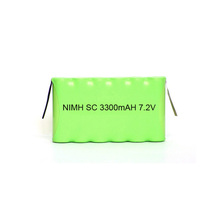 Customized Cordless Drill Tools Battery Rechargeable Ni-MH 7.2V SC 3300mAh Battery Pack