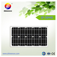 Trade assurance good quality 30w Solar Panel