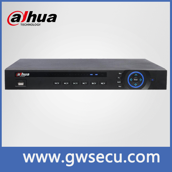 Embeded Linux 16ch 1080P 8 POE NVR, dahua NVR7216-8P, support 16CH 1080p realtime recording CCTV security System