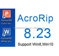 Ink Control Software Acro RIP 8.23 For Epson Flatbed Printer,UV Printer Support Win 8,Win10 System
