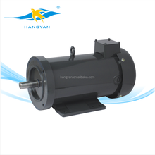 hangyan high performance 2.5 hp high power electric brushed dc motor for machine