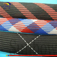 fabric knitted Basalt fiber sleeve Expandable Sleeving for computer