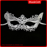 Wholesale party supplies re-use metal women venetian mask