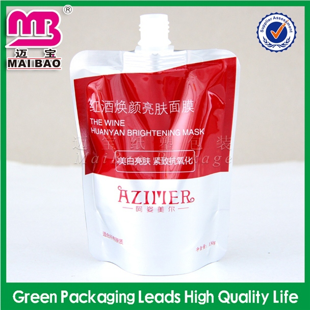 Different shapes manufacturer of mango jelly plastic bag packing