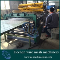 Chinese iron/stainless steel pneumatic welding machine for animal wire mesh fence/animal cages