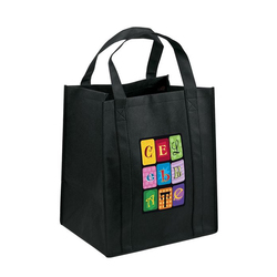 New style shopping bag 300g non-woven bag with logo print