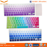 Customized Printing Washable Ultra Thin Soft Silicone Tablet Keyboard Cover Supplier