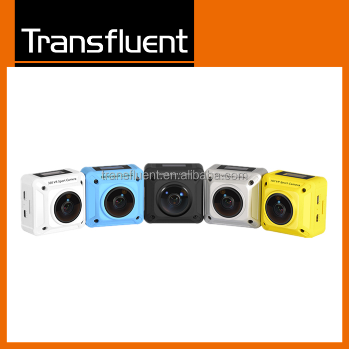 dual lens 360 wifi action cameras for underwater sports