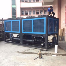 100HP screw type air cooled water chiller,special and high quality screw chiller