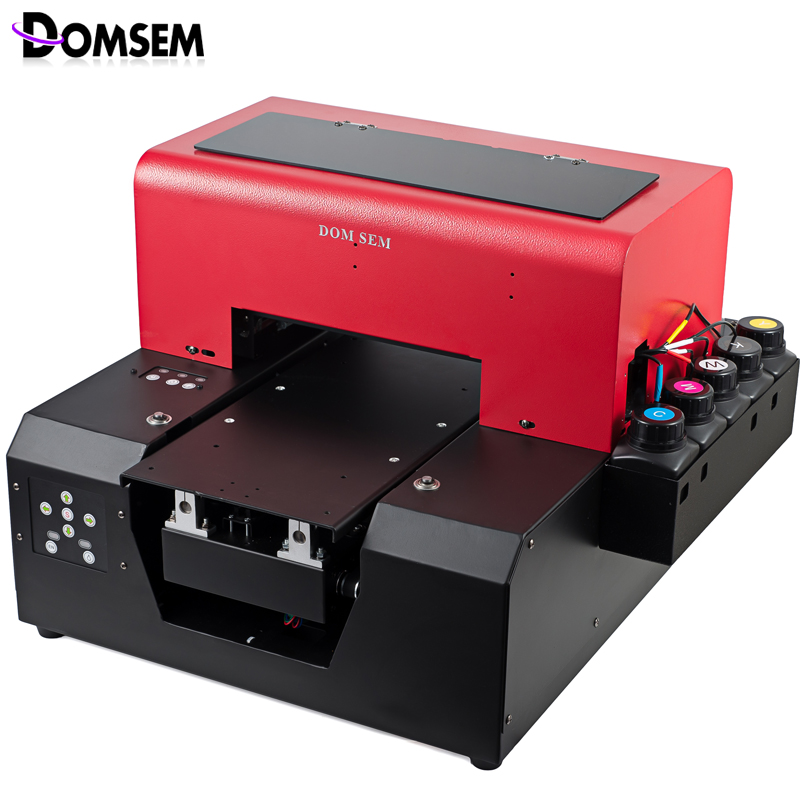 Cheap id card printer UV ink inkjet with epson printhead DX5 2880dpi