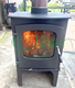 New product portable cast iron coal stove, modern russia indoor wood burning cast iron stove door