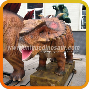 Dinosaur ride for kids coin operated dinosaur motion simulator