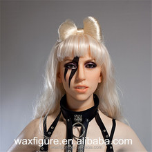 nude wax sculpture of world famous female singer lady gaga wax figure wax statue 2016