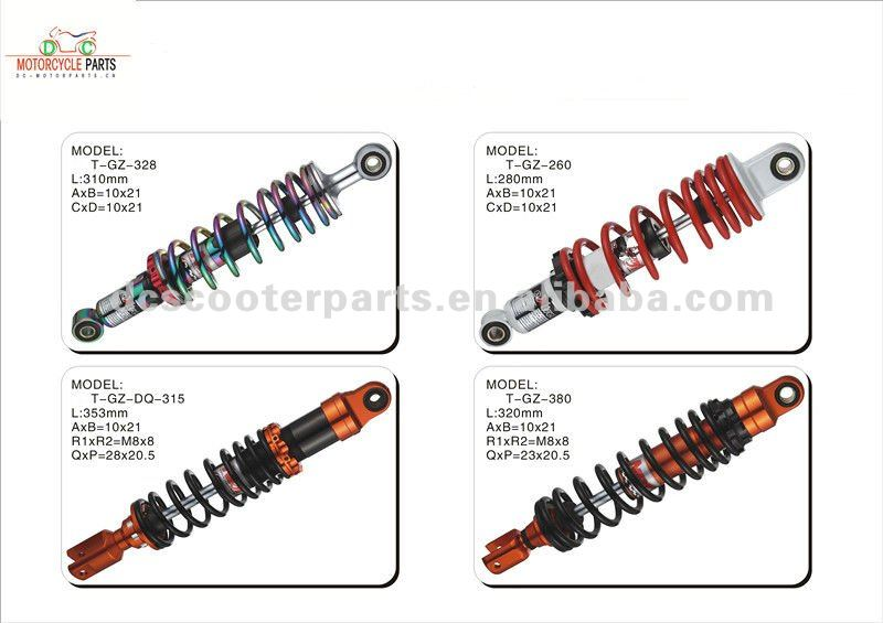Racing Scooter Shock Absorber for Mio,Dio,Nrg,Titan,AG50,Buxy,PGT,MBK