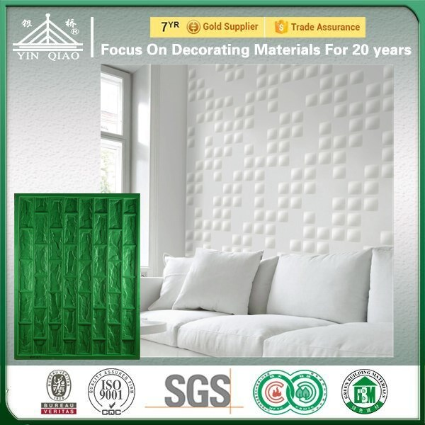 Silicone Rubber Molds For Gypsum 3D Wall Panel Decoration Material
