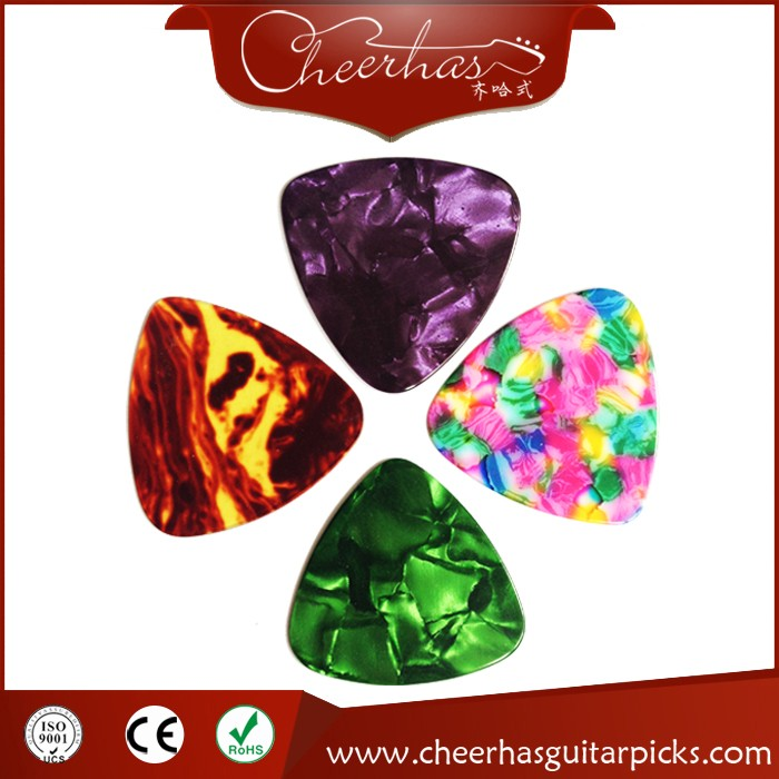 Custom Guitar Picks Wholesale With Wide Triangle Or Water Drop Shape