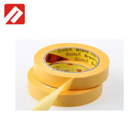best selling products car painting washi tape gold 3m masking tape 244