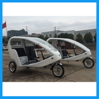 three wheel bicycle eco taxi