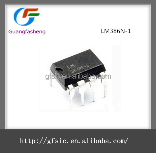 (hot sale) High Quality Low Voltage Audio Power Amplifier IC with LM386N-1