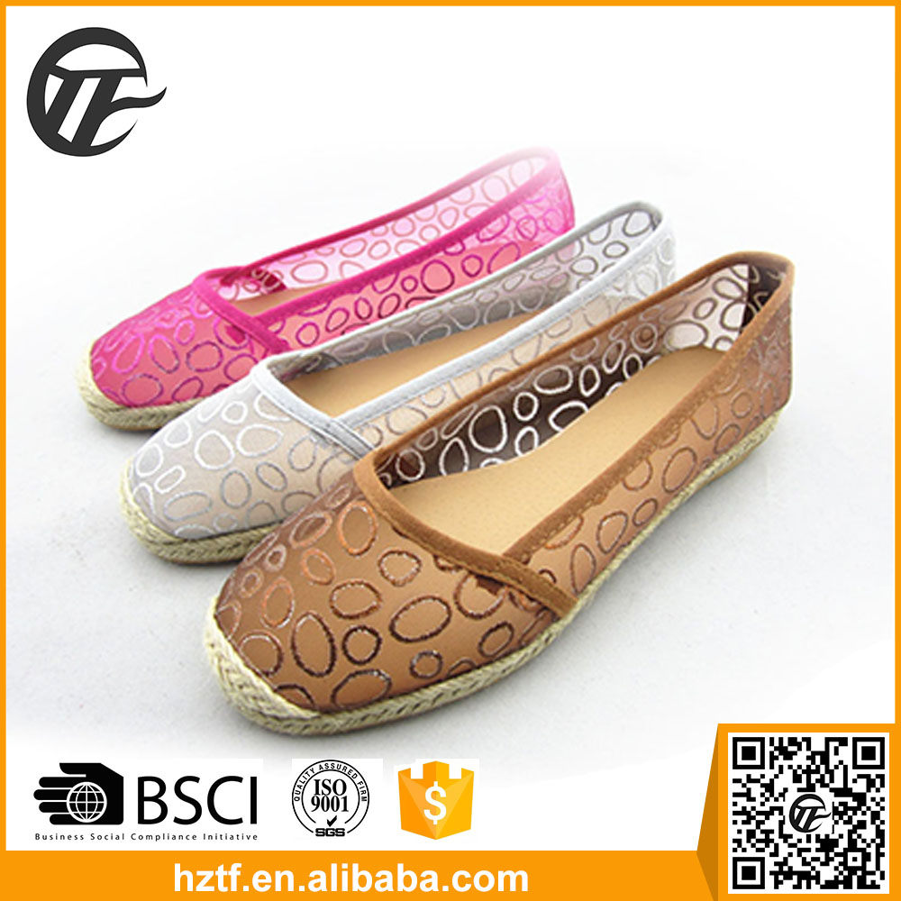 New model lady comfort shoes make in China