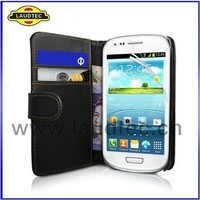 For Samsung Galaxy Grand 2 Leather Skin Back Cover Wallet Case